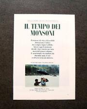 AM17 - Clipping-Ritaglio -1987- IL TEMPO DEI MONSONI