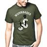 Wurmbader Angeln Angler Sprüche Geschenk Lustig Spaß Comedy Fun Spruch T-Shirt