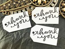 10 Kraft White Gift Tags Wedding Favour Bomboniere Christening Baptism Thank you