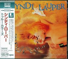 CYNDI LAUPER TRUE COLORS CD+1 2013 JAPAN RMST BLU-SPEC CD2 HIGH FIDELITY FORMAT