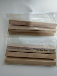NEW ~ SCRABBLE Wooden Tile Replacement Parts ~ Racks Holders Trays ~ Lot of 8
