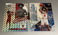 Coby White 2019-20 Mosaic Blue Chips + Introductions Silver Mosaic Rookie Lot RC