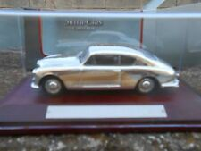 DIE CAST ASTON MARTIN DB-4 SILVER CARS N 108  SCALA 143