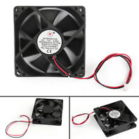 4x DC Brushless Cooling PC Computer Fan 12V 8025s 80x80x25mm 0.2A 2 Pin Wire T3