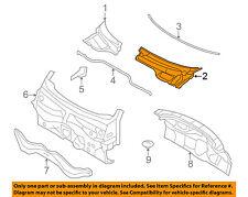 MINI OEM 07-15 Cooper-Cowl Panel Windshield Wiper Motor Cover Left 51132751209