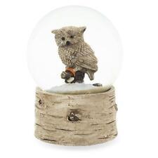 White Owl Snow Globe