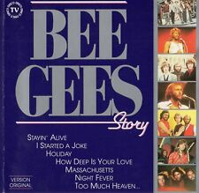 "BEE GEES ""STORY"" ULTRA RARE SPANISH COMPILATION CD / BARRY GIBB"