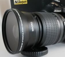 Wide Angle Macro Lens for Nikon with 18-105mm or 18-140mm VR dx af-s ed nikkor