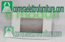 Legrand vela Placca Quadra 6 moduli Bianco lucido 685643