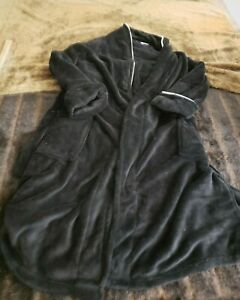 Tommy Bahama Mens Large XL Plush Robe Embroidered Toucan Lounge