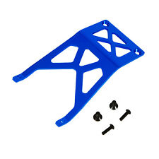 Traxxas Monster Jam 1:10 Alloy Front Skid Plate, Blue by Atomik - Replaces 3623