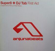 "Super8 + DJ Tab  ""First Aid""  * ANJ046 / Original + Perry O`Neil Mixes"