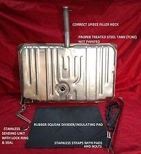 71 72 GTO LeMans Gas tank kit W/ Fuel sending unit, Strap kit, & Insulating pad