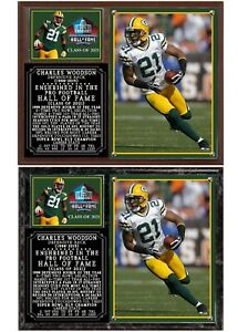Charles Woodson 2021 Hall of Fame Photo Plaque Green Bay Packers