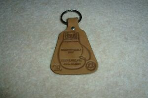 MUHAMMAD ALI OFFICIAL DEER LAKE LEATHER KEY RING MUHAMMAD ALI DAY AUG 18TH 1978