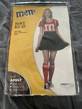 Brand New Adult Red M&M Halloween  Costume Sz Large