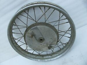 "original Harley Davidson 19"" Front Wheel & Drum Brake K-Model Sportster"