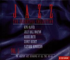 Jazz - The Essential Collection Vol. 1 (1997)  5CD Box Set  NEW  SPEEDYPOST