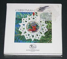 HUTSCHENREUTHER Vintage GERMAN CHRISTMAS ORNAMENT Stocking Star