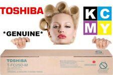 Toshiba GENUINE/ORIGINAL T-FC25D-M MEGENTA Toner Cartridge Copier/Printer FC25