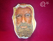 1960s Bossons Head Syrian Man Wall Hanging Plaque