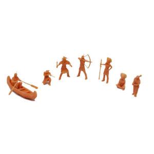 Outland Models Miniatur Amerikanischer Ureinwohner Figurenset 1:72