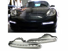 LED DRL Fog Light Bumper Lamp Clear For Porsche Boxster 987 05-08
