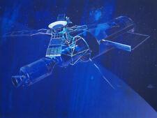 Signed Raymond Loewy Skylab Lithograph 1978