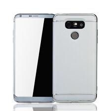 Funda protectora móvil para LG G6 carcasa 3 in 1 Cubierta Cromo estuche Plata