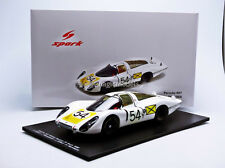 Spark Porsche 907 LH Winner Daytona 1968 #54 1/18 Scale New! In Stock!