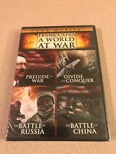 Frank Capra - A World At War DVD Four Movie Set New Sealed Out Of Print