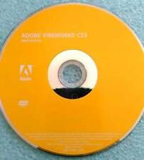 Adobe Fireworks CS3 Retail Full Version Mac Original Install CD & Serial Number