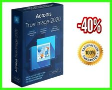 Acronis True Image 2020 🔥Unlimited Devices ✅ PRE-ACTIVATED Lifetime License🔑
