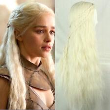 Game of Thrones Daenerys Targaryen Wig Hair Women Masquerade Cosplay Full Wigs
