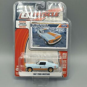 GREENLIGHT GL MUSCLE SIERIES 16 1967 FORD MUSTANG GULF RACING VERY RARE! NOT HOT