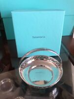 Tiffany Sterling Silver Basket With Tiffany Box Excellent!