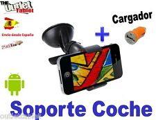 "Soporte ventosa para smartphone HTC ONE 5"" + cargador mechero movil"