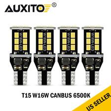 AUXITO T15 921 912 LED Reverse Backup Light Bulb White for Chevrolet Ford CANBUS