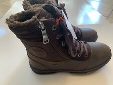 Pajar Troup Snow Boot Mens Boots Size 9-9.5M Dark Brown Leather- NEW!