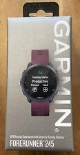 Garmin 010-02120-11 Forerunner 245 Fitness Smartwatch - Merlot