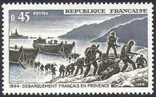 France 1969 WWII/Military/War/Army/Boats/Landing Craft/D-Day/Soldiers 1v n30733