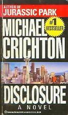 Disclosure by Michael Crichton (1994, Paperback)