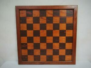 VINTAGE JAQUES LONDON CHESS BOARD  38 cm SQUARES OF 41 mm NO PIECES