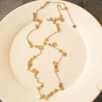 "34"" New Talbots Flakes Single Strand Necklace Gift Fashion Women Party Jewelry"