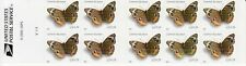 COMMON BUCKEYE BUTTERFLY STAMP BOOKLET -- USA #4001B 24 CENT BUTTERFLIES