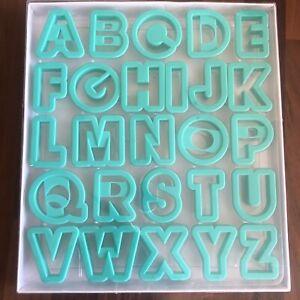 Alphabet Cookie Cutter Set - 26 piece