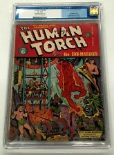 Human Torch #6  Timely Comic Book, 1941, CGC 2.5