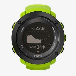 Suunto Ambit3 Vertical Outdoor GPS Sportwatch w/ Heart Rate Monitor-Lime
