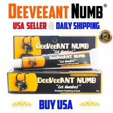 Tattoo Numbing Cream Piercing Laser Wax Hair STRONG 1x10g USA Ship Dr Recommend