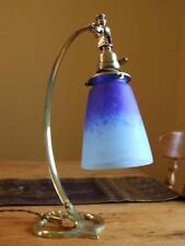 Art Nouveau Gooseneck Lamp Signed Schneider.